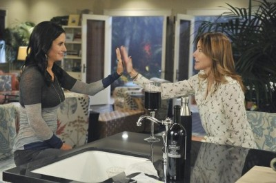 COURTENEY COX, CHRISTA MILLER